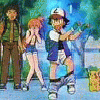 Ash, Misty, and Brock