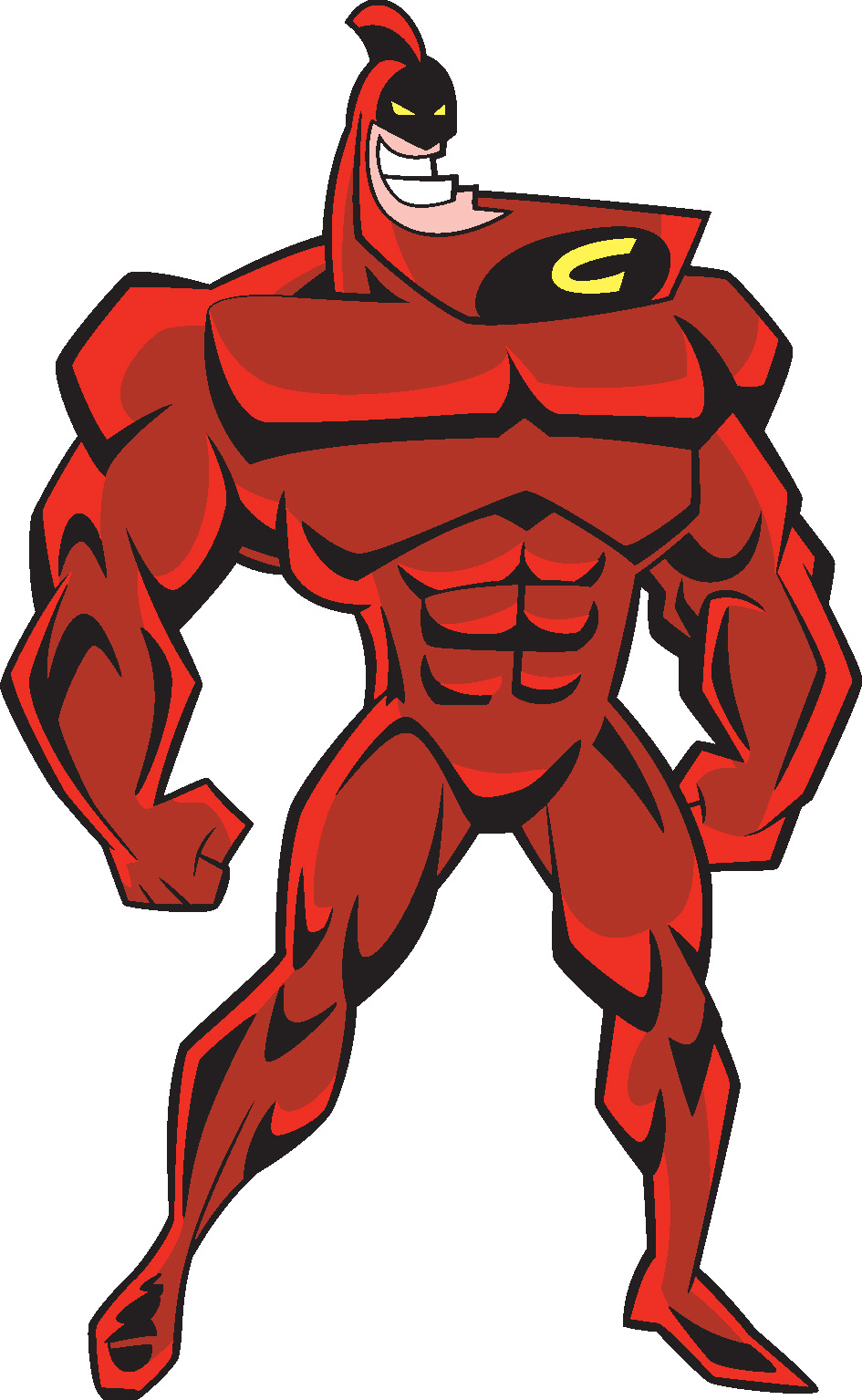 The Crimson Chin